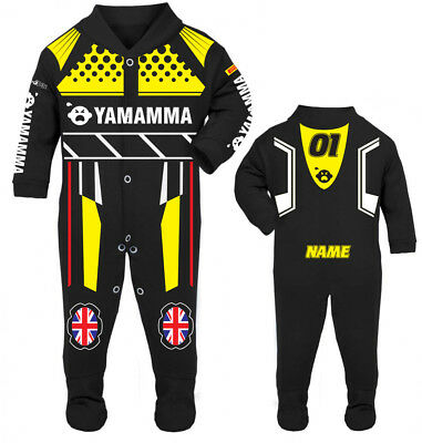 2017 Yamamma Baby Biker Race Sleep Suit