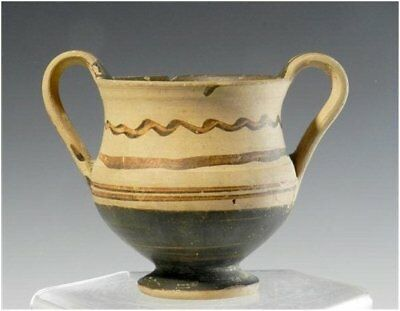 Ancient Daunian Kantharos - Italic Pottery - Published