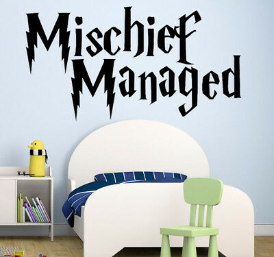Mischief Managed- on sale Harry Potter movie quote