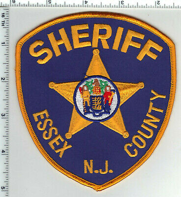 Essex County Sheriff (New Jersey) 3rd Issue Shoulder Patch