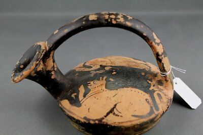 Ancient Greek Attic Red-Figure Askos - Classical Antiquities -