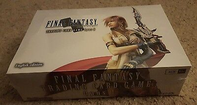 Final Fantasy Trading Card Game: Opus I - Booster Box [36 Card Packs] Brand NEW