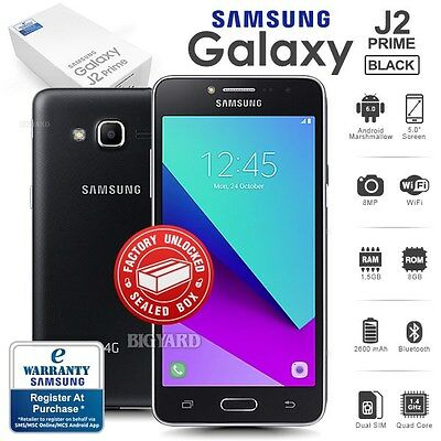 New Factory Unlocked Sealed SAMSUNG Galaxy J2 Prime G532G 4G Android Smartphone
