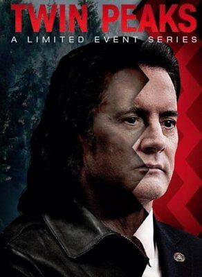 ❏ Twin Peaks A Limited Event Series DVD + EXTRAs ❏ Latest 2017 Season Genuine R2