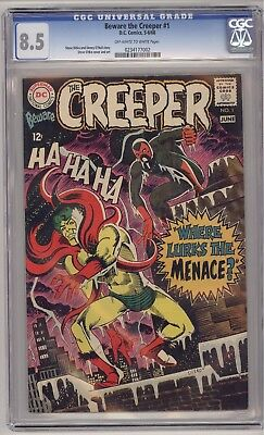 Beware The Creeper #1 Cgc 8.5 - 1St In Own Title!