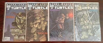 IDW TMNT Micro Series Heroes #1-8 complete set All A's VF/NM