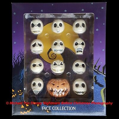 Jun Planning Nightmare Before Christmas Jack Face Collection *new* 12 Faces