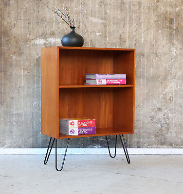 60er TEAK REGAL STANDREGAL KOMMODE NACHTTISCH DANISH 60s SHELF CABINET