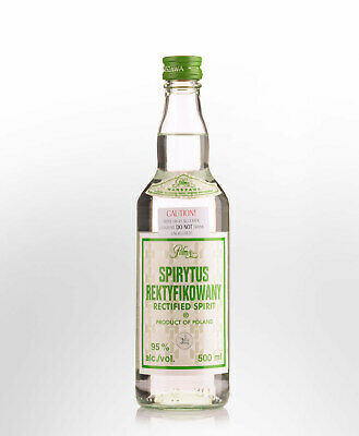 Polmos Spirytus Rektyfikowany (Rectified Spirit) Polish Pure Spirit Vodka (50...