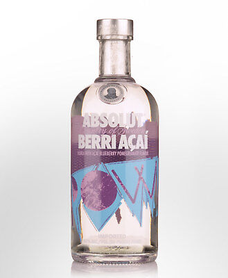 Absolut Berri Acai Flavoured Vodka (700ml)