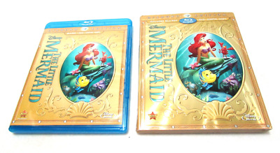 The Little Mermaid (Two-Disc Diamond Edition: Blu-ray / DVD No Digital) Like New