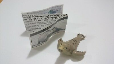 "Cadbury Yowies Series 1 AU Sea Lion ""No Ears"" Variation inc. Papers"