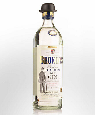Brokers London Dry Gin (700ml)