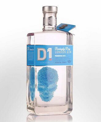 D1 Daringly Dry Premium Cut London Gin (700ml)