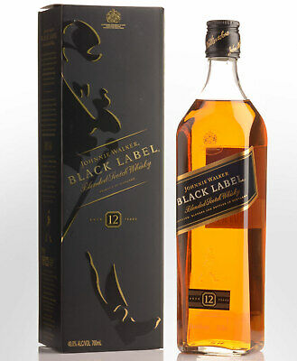 Johnnie Walker Black Label 12 Year Old Blended Scotch Whisky (700ml)