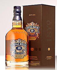 Chivas Regal 18 Year Old Blended Scotch Whisky (700ml)