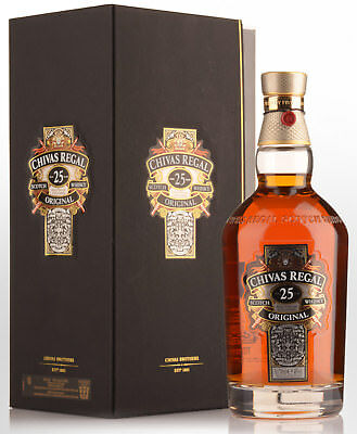 Chivas Regal 25 Year Old Blended Scotch Whisky (700ml)