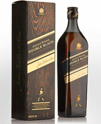 Johnnie Walker Double Black Blended Scotch Whisky (700ml)