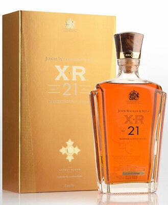Johnnie Walker XR 21 Year Old Blended Scotch Whisky (750ml)