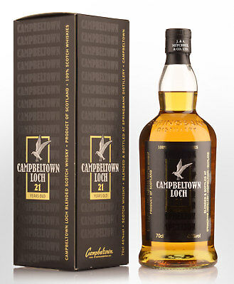 Campbeltown Loch 21 Year Old Blended Scotch Whisky (700ml)