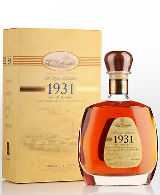 St. Lucia Distillers 1931 Rum (700ml) - First Edition