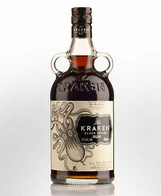 The Kraken Black Spiced Rum (700ml)