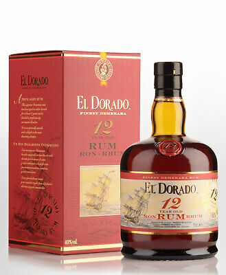 El Dorado 12 Year Old Rum (700ml)