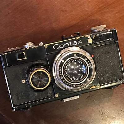 Black Contax 1 type contax i super rare free shipping from japan