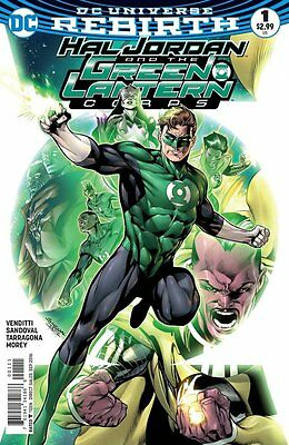 Hal Jordan and the Green Lantern Corps #1 (Rebirth) 1st Print DC Comics