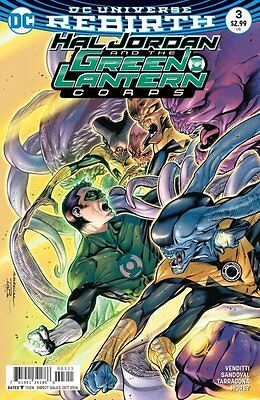 Hal Jordan and the Green Lantern Corps #3 (Rebirth) 1st Print DC Comics