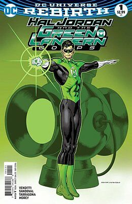 Hal Jordan and the Green Lantern Corps #1 variant (Rebirth) 1st Print DC Comics
