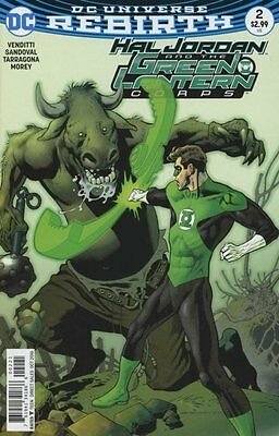 Hal Jordan and the Green Lantern Corps #2 variant (Rebirth) 1st Print DC Comics