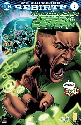 Hal Jordan and the Green Lantern Corps #5 (Rebirth) 1st Print DC Comics