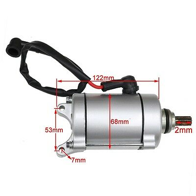 9 teeth Electric Starter Motor For 150cc 125cc 4 Stroke ATV SUNL TAO TAO QUAD