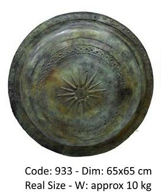 Ancient Greek Bronze Shield Real Size Museum Replica