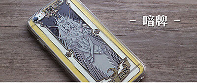 Big sale! Card captor Sakura Clow card crystal and relief phone case - The dark