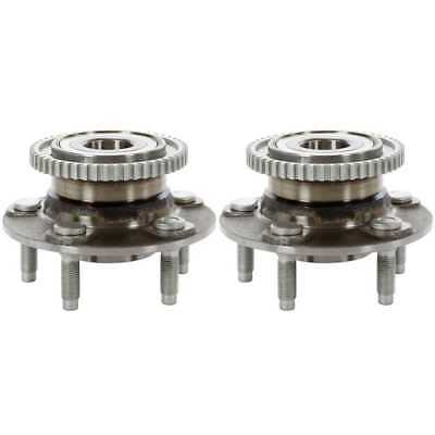 Pair (2) New Rear Wheel Hub Bearing Assembly with Lifetime Warranty