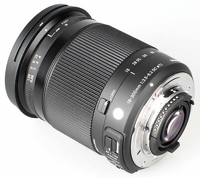 Sigma 18-300mm f/3.5-6.3 DC MACRO OS HSM Contemporary Lens for Canon EF - New!