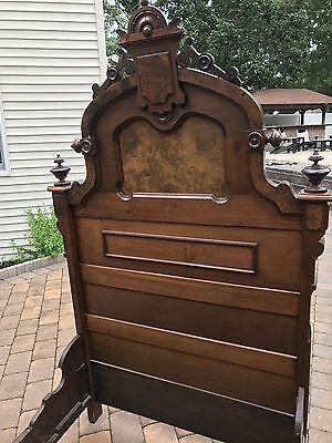 Antique Mahogany Twin Bed Late 1800's