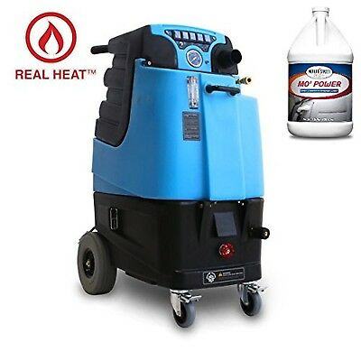 LTD3 Speedster Heated Carpet Extractor and Two Cases (8 Gallons) of Mo' Power...