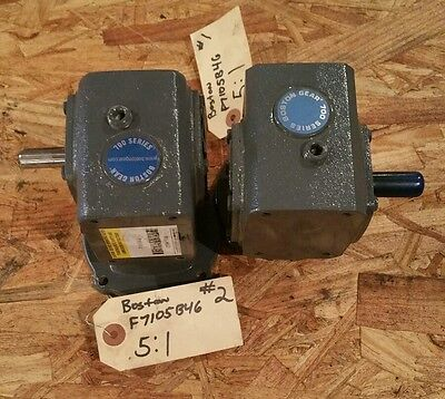 "Boston F7105B46 Speed Reducer "" Pair of 2"" #1381W"