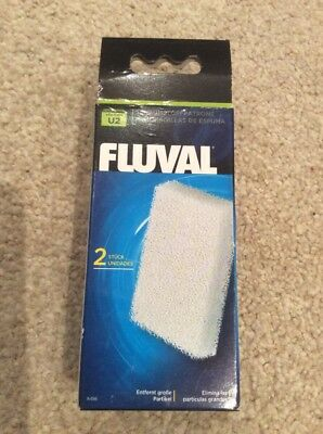 Fluval U2 Filter Foam Genuine Hagen Replacement sponge