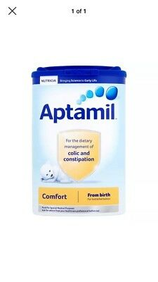 Aptamil comfort milk new & sealed for colic & constipation.  5 Available