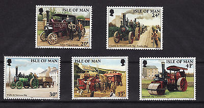 1995 Isle of Man, Steam Traction Engines, NH Mint Set, SG 629-33