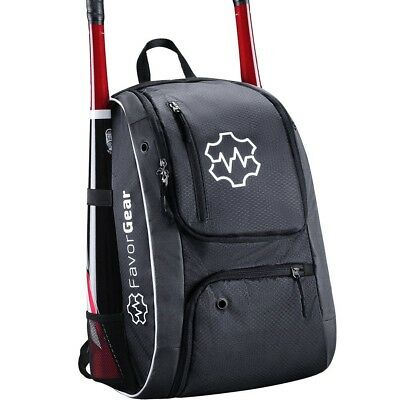 FavorGear Baseball Equipment Bags - Backpack for Baseball, Softball, T-Ball