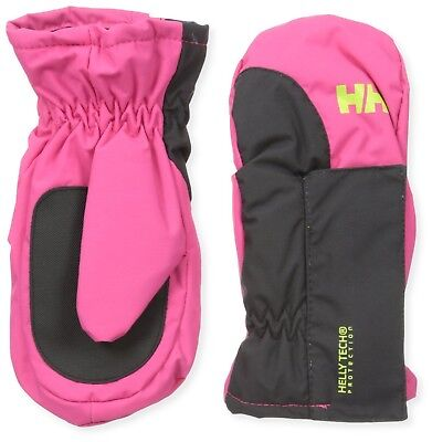 (3, Pink) - Helly Hansen K Padded Mittens – Mittens Unisex. Delivery is Free
