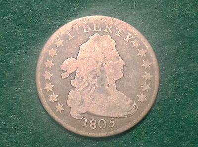 1805 Draped Bust Dime    VERY RARE and BEAUTIFUL COIN!!!   L@@K!!!!