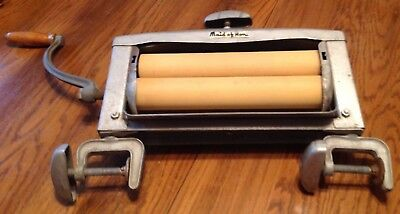 Antique Maid Of Honor Hand Crank Wringer Washer