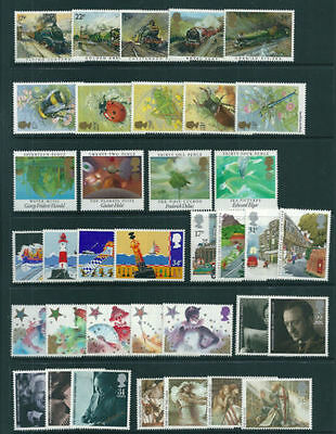 SG1272-1307 1985 GB COMMEMORATIVES YEAR SET Complete ~ 8 Sets Unmounted Mint.