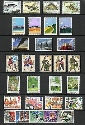 SG1206-1235 1983 GB COMMEMORATIVES YEAR SET Complete ~ 7 Sets  Unmounted Mint.